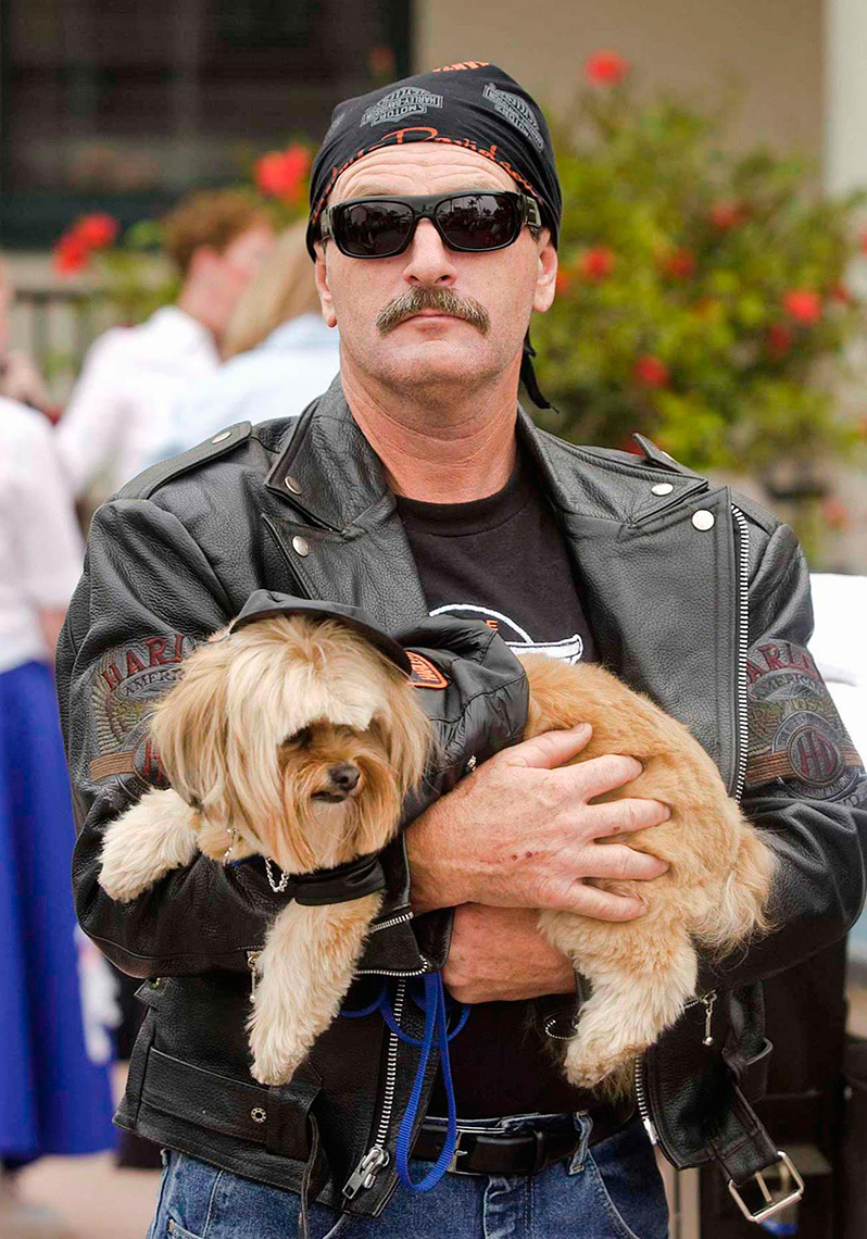FEA_PhotoReporters_Biker-at-Big-Dogs-parade_Santa-Barbara_CA